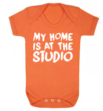 My home is at the studio Baby Vest orange 18-24 months