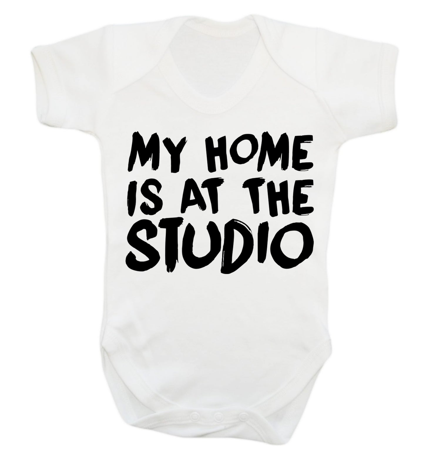 My home is at the studio Baby Vest white 18-24 months