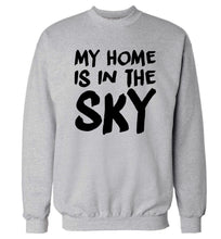 My home is in the sky Adult's unisex grey Sweater 2XL