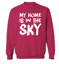 My home is in the sky Adult's unisex pink Sweater 2XL