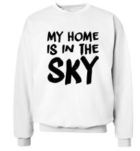 My home is in the sky Adult's unisex white Sweater 2XL