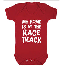 My home is at the race track Baby Vest red 18-24 months