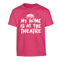 My home is at the theatre Children's pink Tshirt 12-14 Years