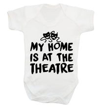 My home is at the theatre Baby Vest white 18-24 months
