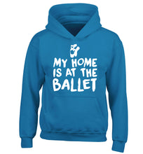 My home is at the ballet children's blue hoodie 12-14 Years