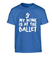 My home is at the dance studio Children's blue Tshirt 12-14 Years