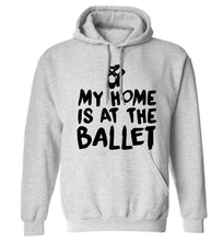 My home is at the dance studio adults unisex grey hoodie 2XL