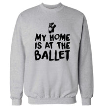 My home is at the dance studio Adult's unisex grey Sweater 2XL