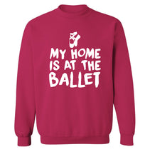 My home is at the dance studio Adult's unisex pink Sweater 2XL