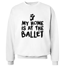My home is at the dance studio Adult's unisex white Sweater 2XL