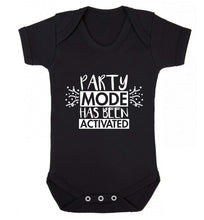 Please do not disturb party mode has been activated Baby Vest black 18-24 months