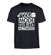 Bbq mode has been activated Children's black Tshirt 12-14 Years