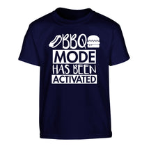 Bbq mode has been activated Children's navy Tshirt 12-14 Years