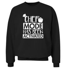 Chef mode has been activated Adult's unisex black Sweater 2XL