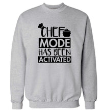 Chef mode has been activated Adult's unisex grey Sweater 2XL