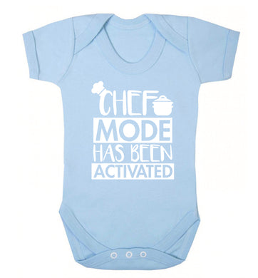 Chef mode has been activated Baby Vest pale blue 18-24 months