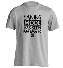 Baking mode has been activated adults unisex grey Tshirt 2XL