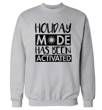 Holiday mode has been activated Adult's unisex grey Sweater 2XL