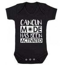Cancun mode has been activated Baby Vest black 18-24 months