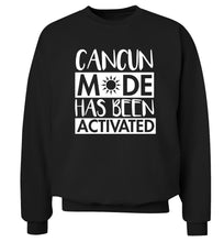 Cancun mode has been activated Adult's unisex black Sweater 2XL
