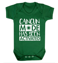 Cancun mode has been activated Baby Vest green 18-24 months