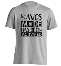 Kavos mode has been activated adults unisex grey Tshirt 2XL