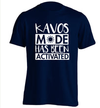 Kavos mode has been activated adults unisex navy Tshirt 2XL