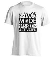 Kavos mode has been activated adults unisex white Tshirt 2XL