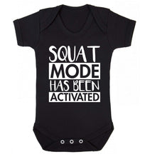 Squat mode activated Baby Vest black 18-24 months