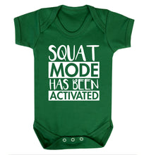 Squat mode activated Baby Vest green 18-24 months