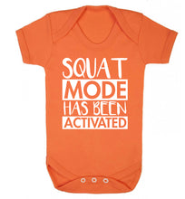 Squat mode activated Baby Vest orange 18-24 months