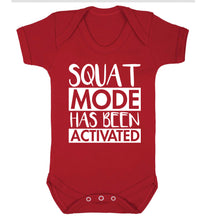 Squat mode activated Baby Vest red 18-24 months
