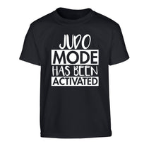 Judo mode activated Children's black Tshirt 12-14 Years