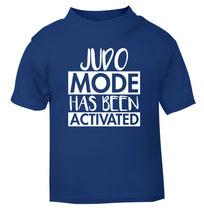 Judo mode activated blue Baby Toddler Tshirt 2 Years
