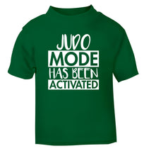 Judo mode activated green Baby Toddler Tshirt 2 Years