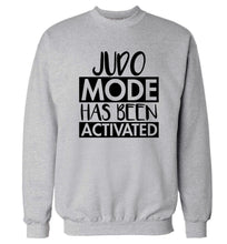 Judo mode activated Adult's unisex grey Sweater 2XL