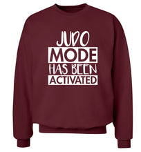 Judo mode activated Adult's unisex maroon Sweater 2XL