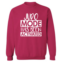 Judo mode activated Adult's unisex pink Sweater 2XL