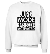 Judo mode activated Adult's unisex white Sweater 2XL