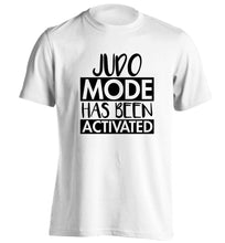 Judo mode activated adults unisex white Tshirt 2XL