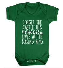 Forget the castle this princess lives at the boxing ring Baby Vest green 18-24 months