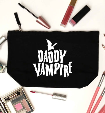 Daddy vampire black makeup bag