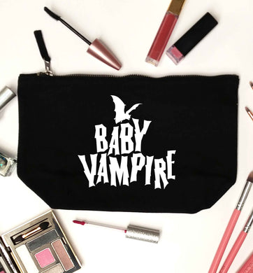 Baby vampire black makeup bag