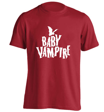 Baby vampire adults unisex red Tshirt 2XL