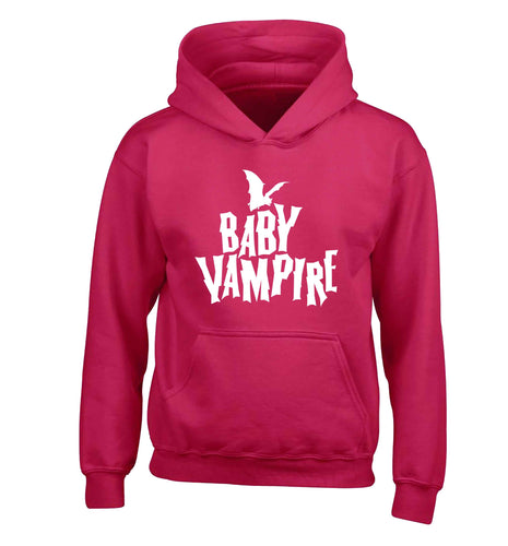 Baby vampire children's pink hoodie 12-13 Years