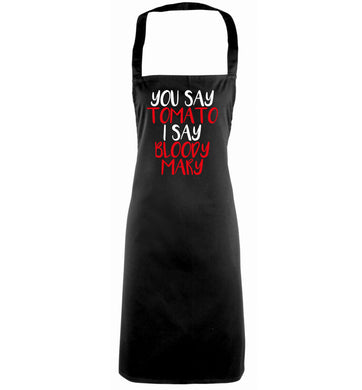 You say tomato I say bloody mary black apron