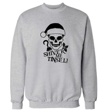 Shiver me tinsel Adult's unisex grey Sweater 2XL