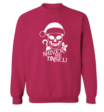 Shiver me tinsel Adult's unisex pink Sweater 2XL