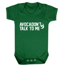 Avocadon't talk to me Baby Vest green 18-24 months