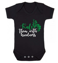 Kale them with kindness Baby Vest black 18-24 months
